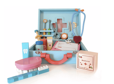 Wooden Toy Doctor Kit - Make Me Yours Toy Studio
