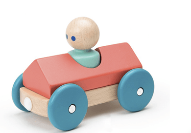 Magnetic Wooden Racer Car - Make Me Yours Toy Studio