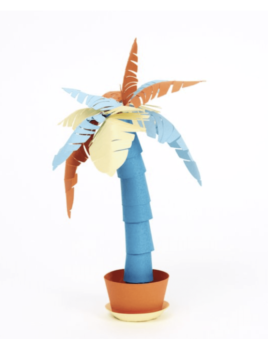 3D Palm Model Tree Kit - Make Me Yours Toy Studio