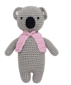 Hand-made Organic Kayla the Koala - Make Me Yours Toy Studio