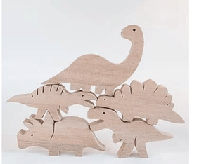 Spanish Dinosaur Puzzle - Make Me Yours Toy Studio