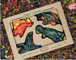 Dinosaur Crayon Set - Make Me Yours Toy Studio