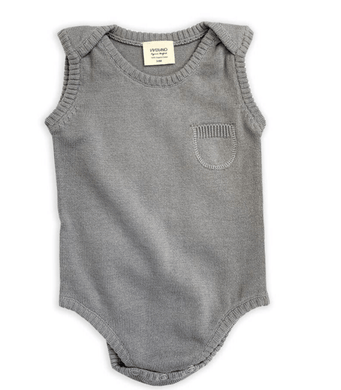 Short-Sleeved Organic Knit Bodysuit - Make Me Yours Toy Studio