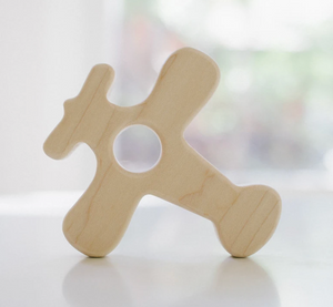 Airplane Wooden Grasping Toy