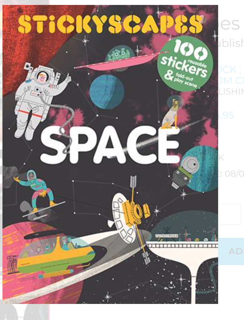 Stickyscapes Space Sticker Book