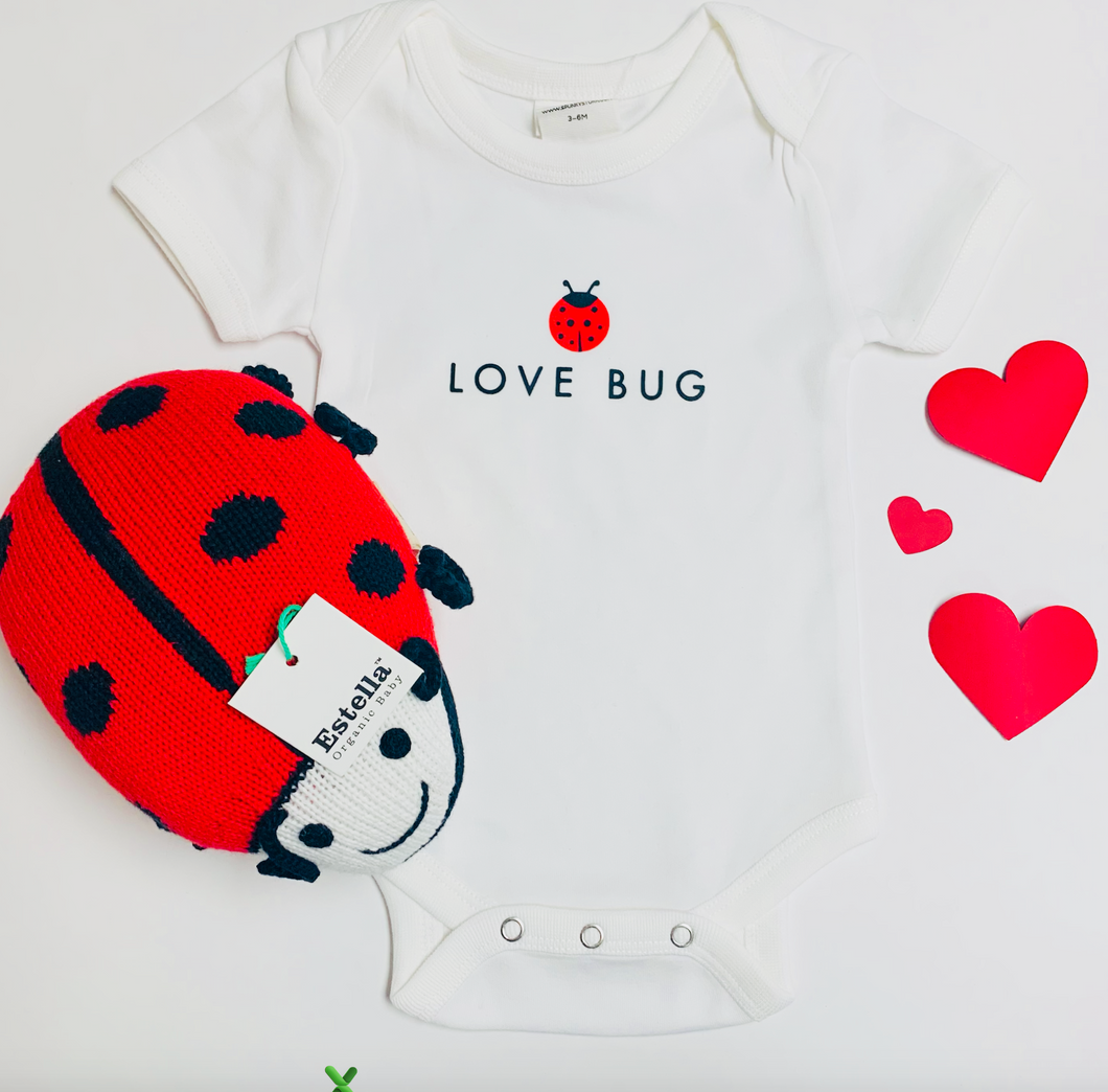 Organic Love Bug Bodysuit