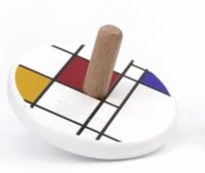 Mondrian Spinning Top