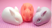 Easter Bunnies Pastel Soap Bars
