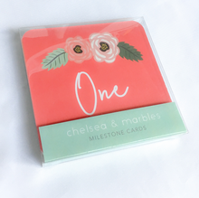Milestone Blanket & Cards - Floral Wreath