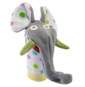 Party Elephant Softy Puppet