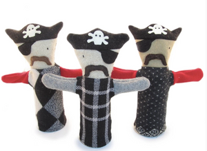 Pirate Wool Puppet