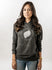 "Hoodie Grey Storm ""Let's Give Some Air"" - Mujer"