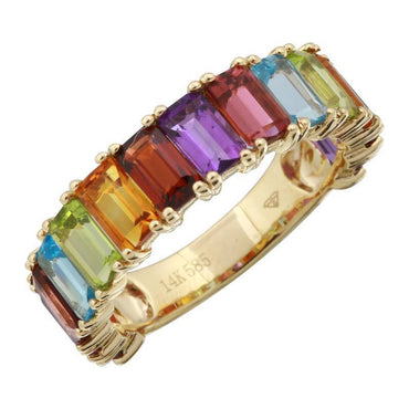 ALEV 3/4 Anillo Rainbow - Camila Canabal Shop