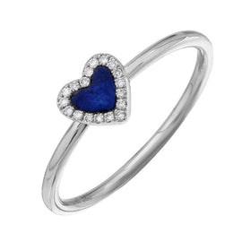 ALEV Anillo Lapis Heart - Camila Canabal Shop