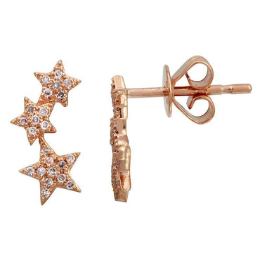 ALEV Three Star Studs - Camila Canabal Shop