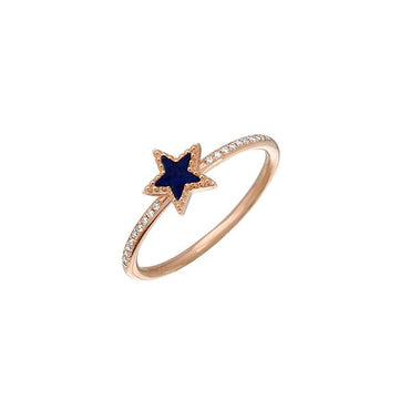 ALEV Blue Star Ring