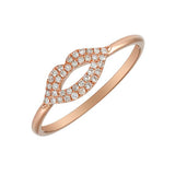 ALEV Lips Stack Ring