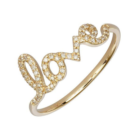 ALEV Anillo Love Pave - Camila Canabal Shop