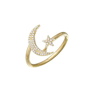 ALEV Anillo Moon-Star - Camila Canabal Shop
