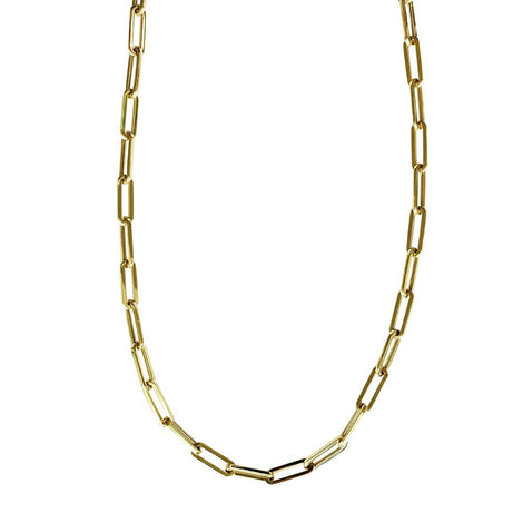 Alev Thick Paper Clip Chain - Camila Canabal Shop
