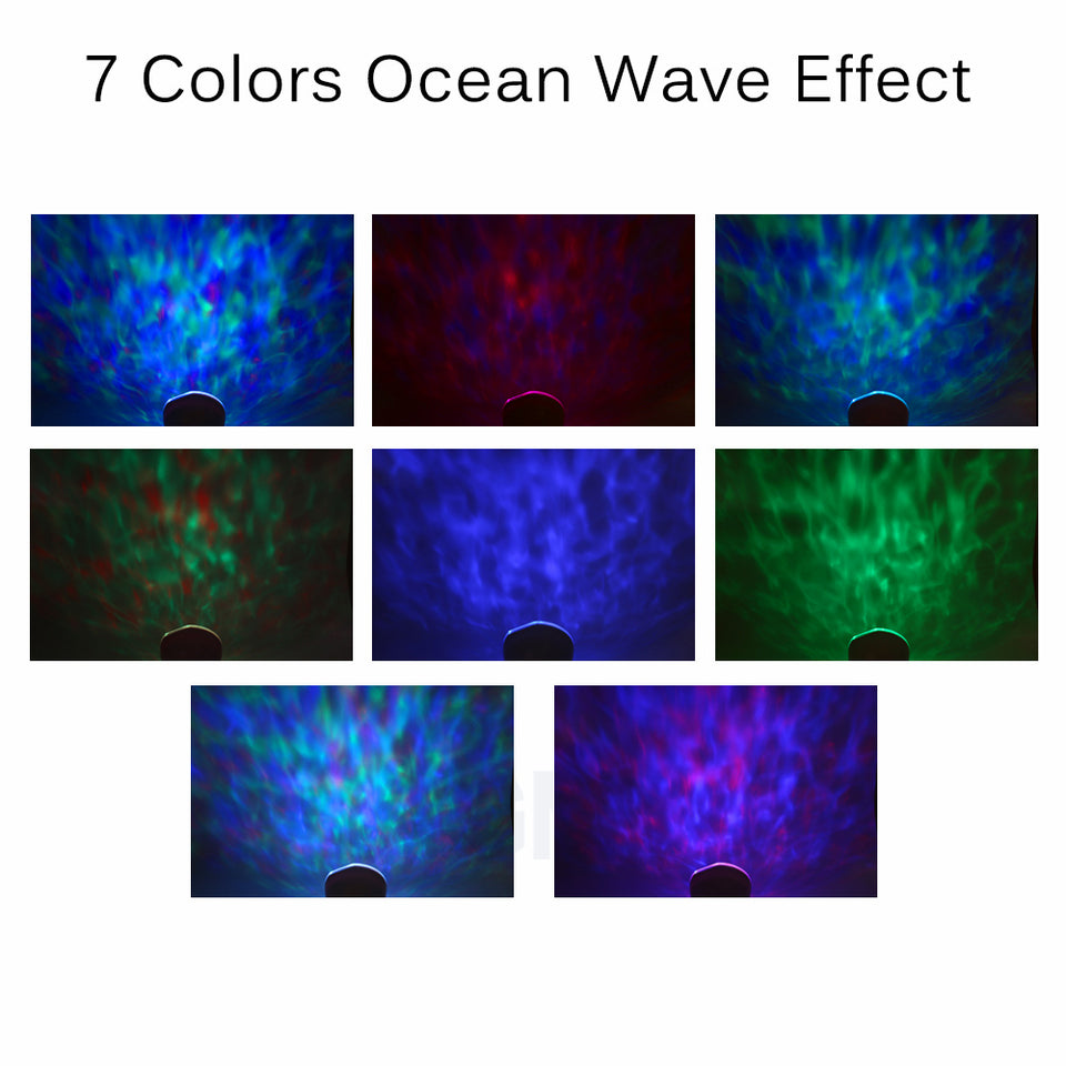 Ocean Wave Night Projector - Wish-n-Bliss