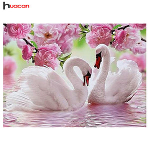 Swan 5D Diamond Painting - Wish-n-Bliss
