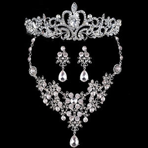 Crystal Bridal Jewelry Sets - Wish-n-Bliss