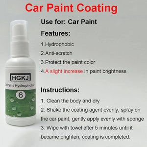 Ceramic Waterproof Car Polish - Wish-n-Bliss