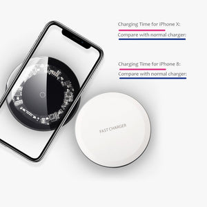 Fast Wireless Charger - Wish-n-Bliss