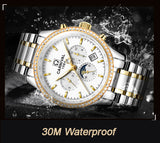 Swiss Luxury Diamond Automatic Men Watches - CARNIVAL - Wish-n-Bliss