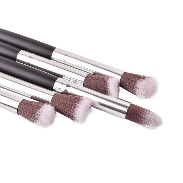 Lot de 5 Pinceaux de Maquillage Vegan