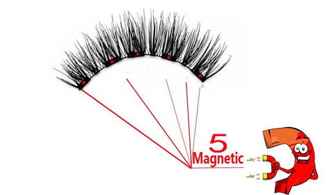 3D Mink Magnetic Eyelashes & Curler Set