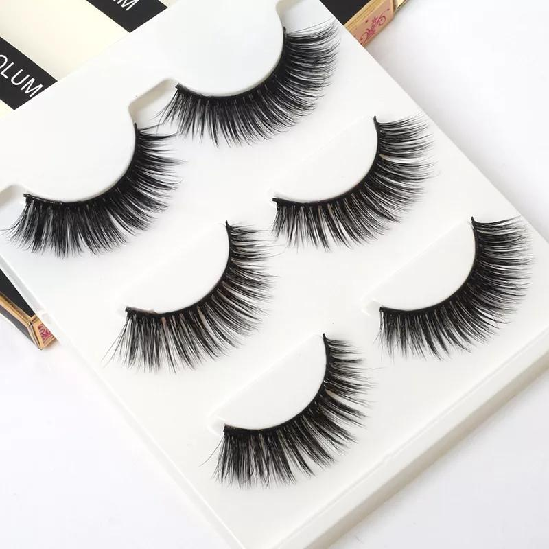 Luxury 3D Elongated Natural Eyelashes