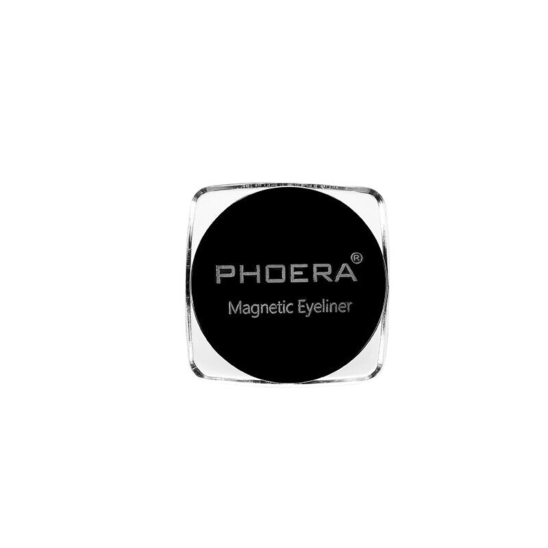 PHOERA Black Magnetic Liquid Eyeliner Gel (Waterproof)