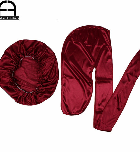 Unisex Silk Bonnet & Durag Set