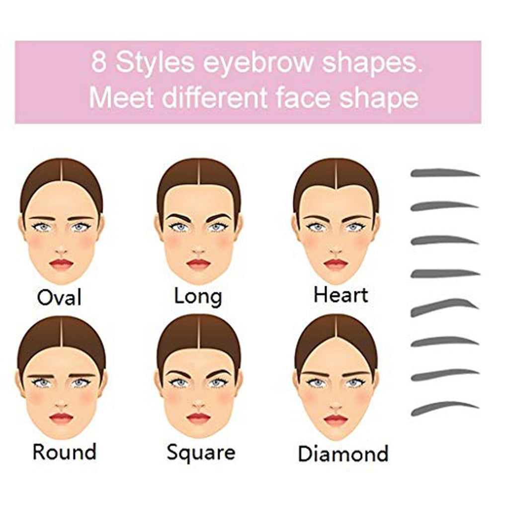 Eyebrow Shaper - 8 sizes