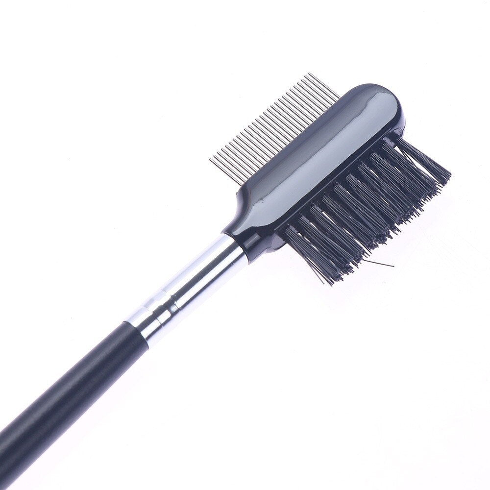 Eyebrow Eyelash Dual-Comb Brush