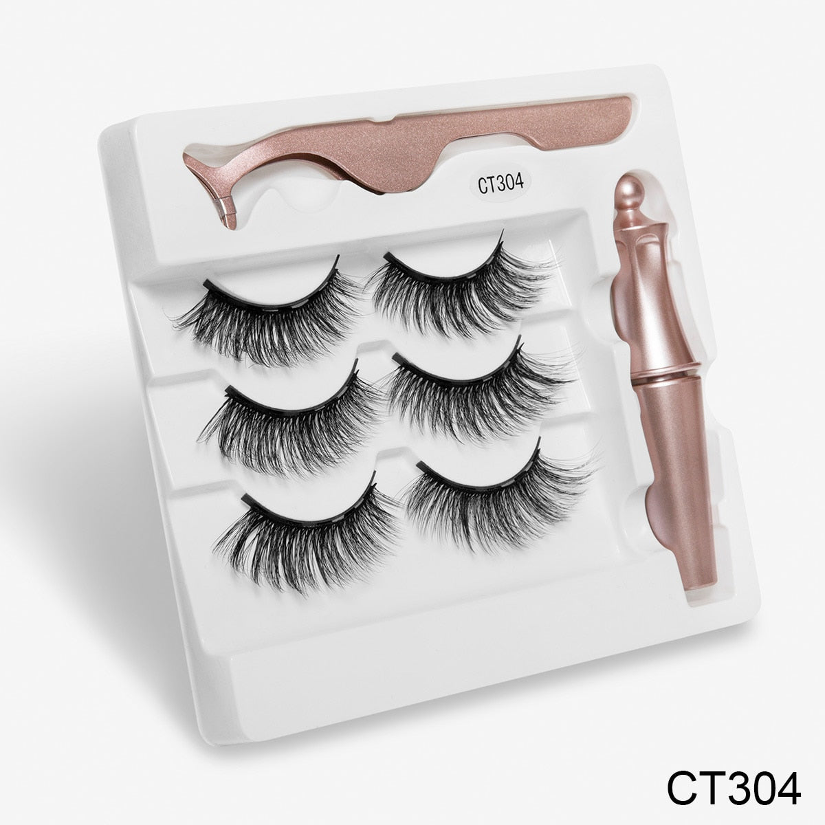 Luxury 3D Mink Magnetic Faux Mink Lash Kit