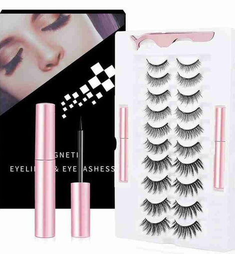 #2 BEST SELLER LUXURY MAGNETIC EYELASHES (10 Pairs)