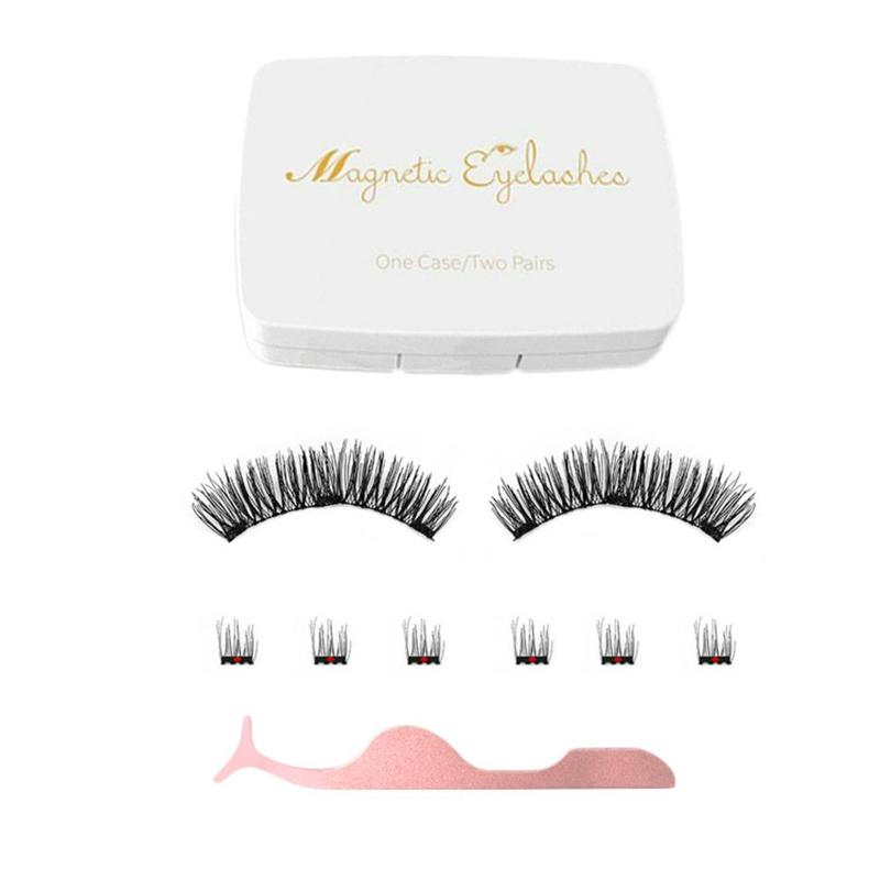 Luxury Faux Mink Magnet Eyelashes