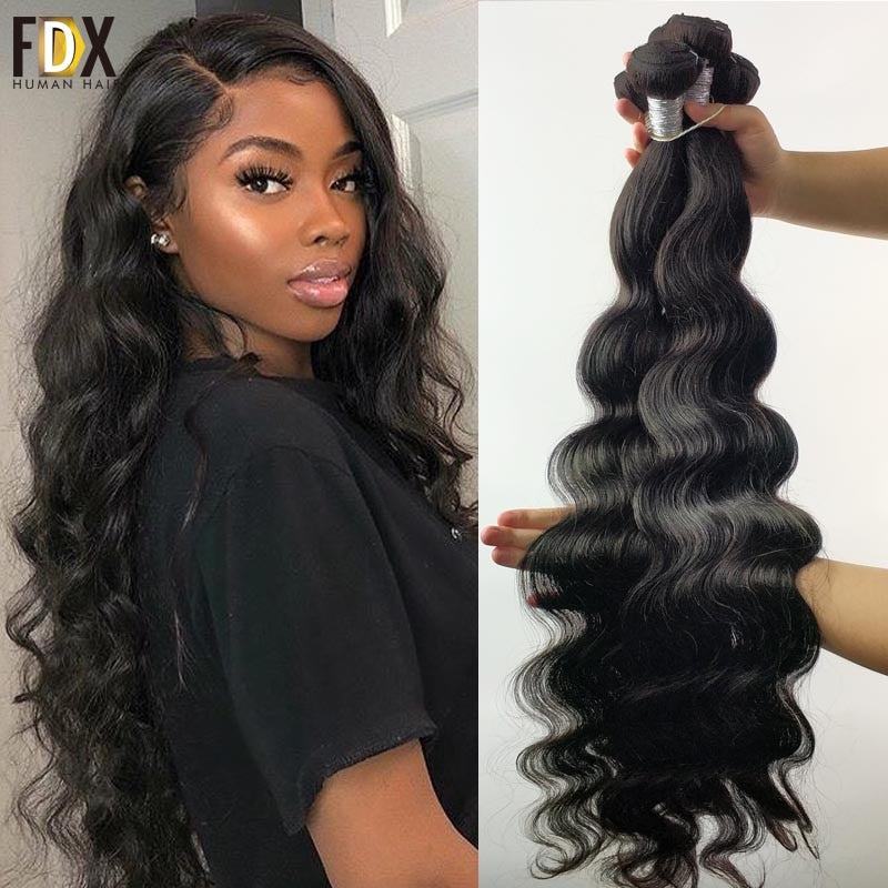 FDX Body Wave Bundles - Brazilian Remy