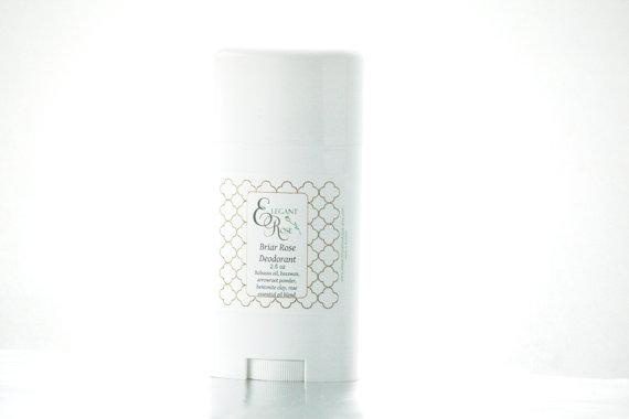 English Rose Natural Deodorant - Coconut Allergy