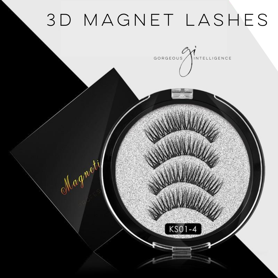 #1 Best Seller 3D No-Glue Magnet Lashes
