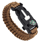 Tactical Military Paracord Bracelet