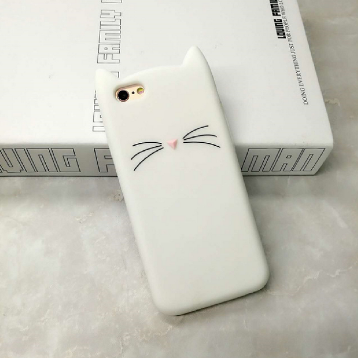 Cat Cartoon Iphone Case
