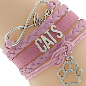 Cat Love Bracelet Free+Shipping