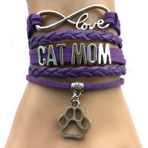 Cat Mom Bracelet Free+Shipping