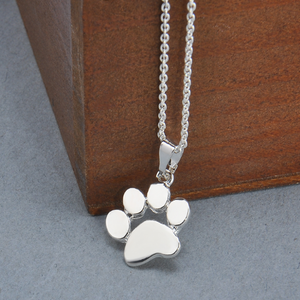 Dog Paw Necklaces Free+Shipping