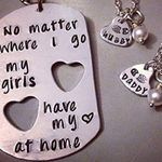 "Copy of ""Soldier, Wife, Daughter"" Necklace Free+Shipping"