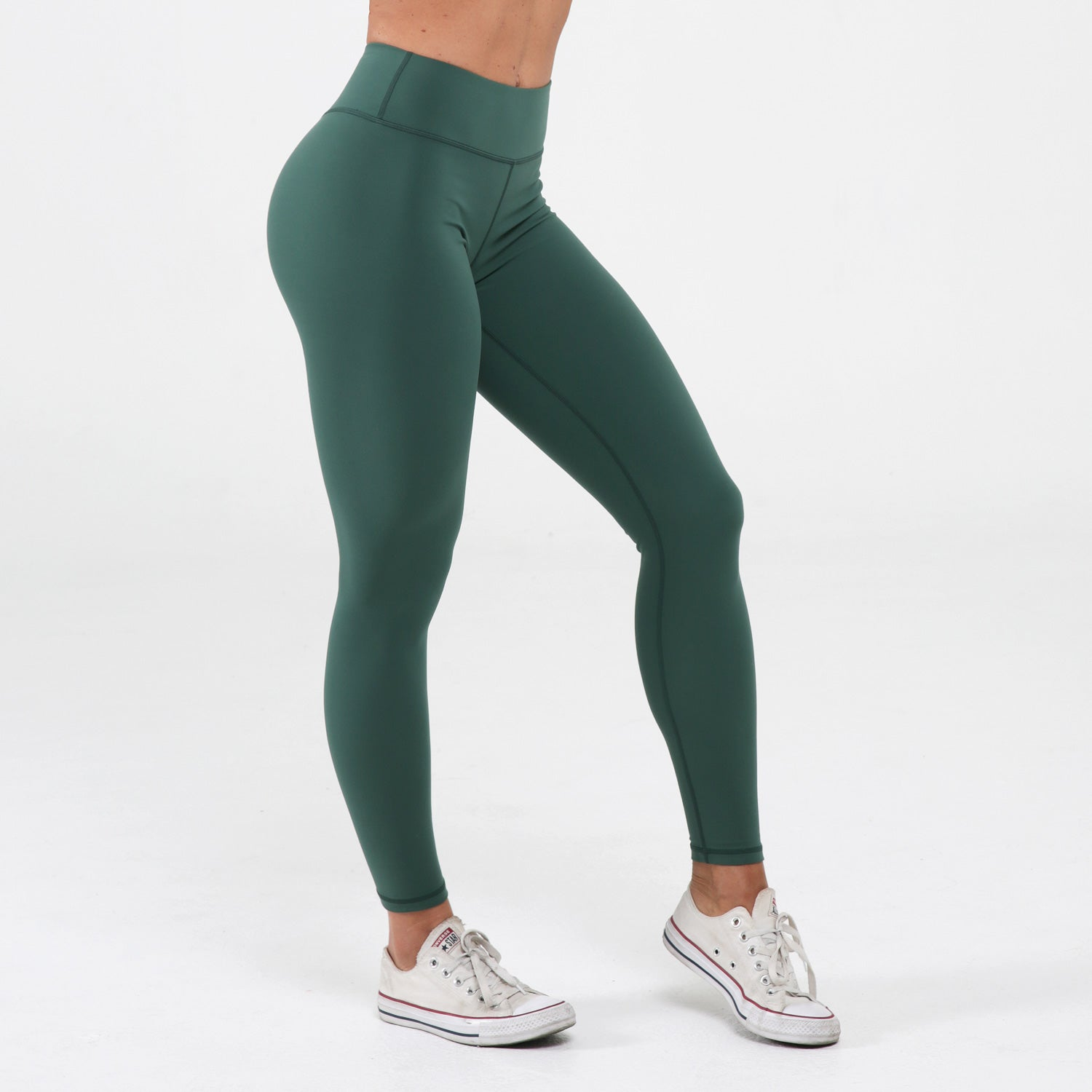 Sage Scrunch Booty Leggings